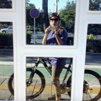 mulher iraniana ciclista pedalando 8 - IranianWomenLoveCycling