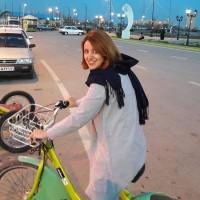mulher iraniana ciclista pedalando 9 - IranianWomenLoveCycling