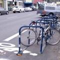 Bike corral em Portland (EUA). Foto: Greg Raisman (cc)