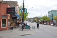 Bike corral em Vancouver (Canadá). Foto: Paul Krueger (cc)