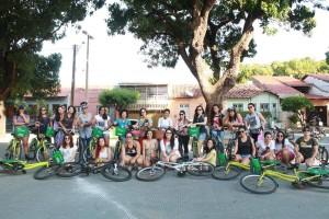 Encontro do Pedalzinho das Mina, em Fortaleza/CE: entre mulheres, assédio é discutido abertamente e sem julgamentos. Foto: Divulgação