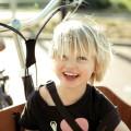 Bicicletas de carga com espaço para levar as crianças na frente são comuns. Foto: Velo-City/Divulgação