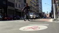 Remocao ciclovia Bom Retiro rua Silva Pinto - sinalizacao repintura popular bicicletinhas 03