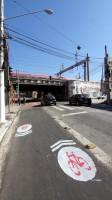 Remocao ciclovia Bom Retiro rua Silva Pinto - sinalizacao repintura popular bicicletinhas 04
