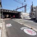Remocao ciclovia Bom Retiro rua Silva Pinto - sinalizacao repintura popular bicicletinhas 05