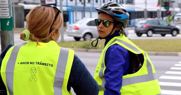 Ação ocorreu em pontos da cidade com grande presença de trabalhadores que utilizam a bicicleta. Foto: 99/Divulgação