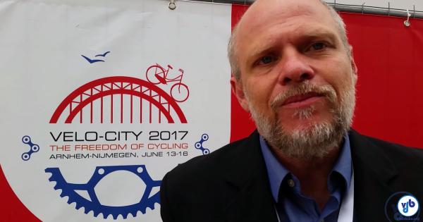 Em entrevista exclusiva ao Vá de Bike durante a Velo-City, Avelleda revelou o que será feito no Bom Retiro. Imagem: Willian Cruz/Vá de Bike